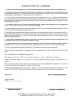 Murree Enclave Housing Scheme - Terms and Conditions