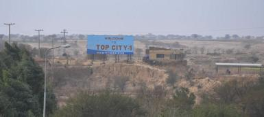 Top city Islamabad Site View