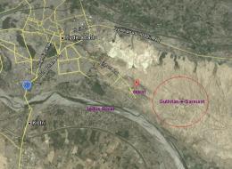 Gulistan e Sarmast Housing Scheme Hyderabad Location Satellite Map