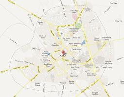 Kasur City Map