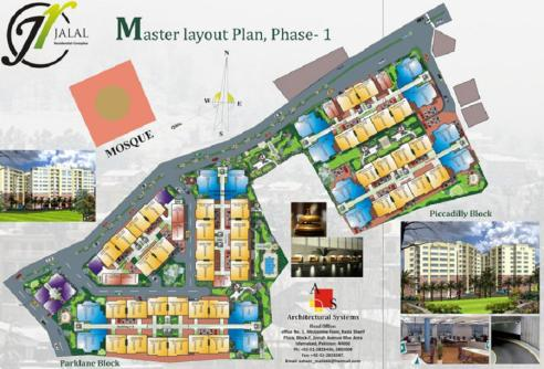 Jalal Residential Complex Master Plan Phase-1 Abbottabad