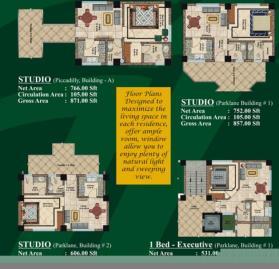 Studios layout plan - Jalal complex Abbottabad