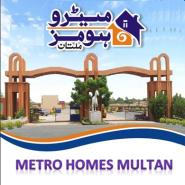 Metro Homes Multan Logo