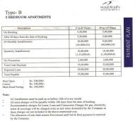 Harmain Royel Residency - 3 bed rooms price
