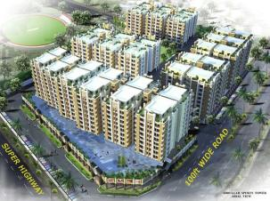 Abdullah Sports Towers Hyderabad Arial View