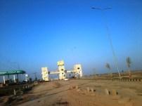 Lahore Motoway City with Kot Abdul malik Toll Plaza