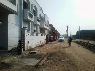 Multan Cantt Villas near to completion