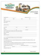 Madni Avenue Housing Scheme Apllication Form 1