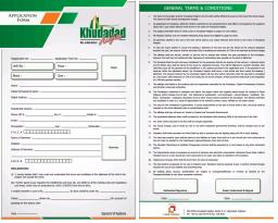 Application Form Khudadad Heights Islamabad