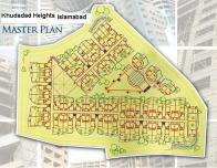 Master Plan Khudadad Heights Apartments Islamabad