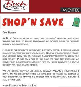 Buch Villas Shop N Save