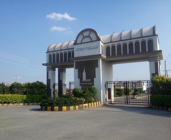Icon Villas Southern By-pass Multan - Main Entrance (07-04-2015)