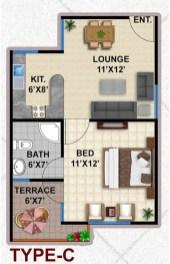 Type C Apartment Layout Plan