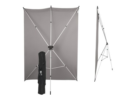 X-Drop portable photography backdrop stand