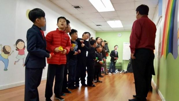 Children's Ministry Christmas Rehearsal