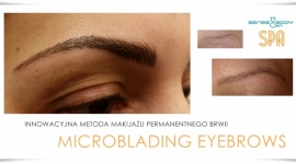 MICROBLADING EYEBROWS W SENSE & BODY SPA