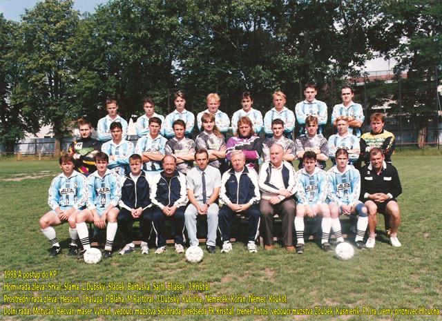Postup do KP v sezóně 1997/98