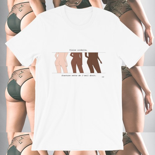 t-shirt vision irreelle