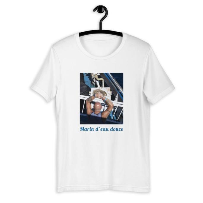 t-shirt marin d eau douce