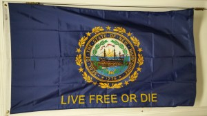 NH Live Free Or Die Flag