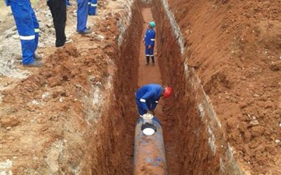 New 630mmØ Raw Water Rising Main from Meulspruit Dam to Ficksburg Water Treatment Plant, Ficksburg