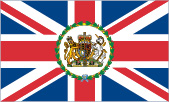 Diplomatic Service Flag (eg. British Embassy)