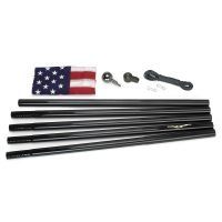 All American Series - Flag Pole - Black