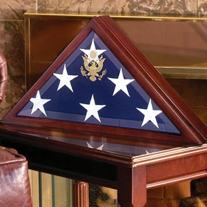50% of Military  Flag Case -  Burial Flag Box