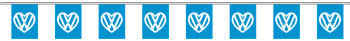 VW heart bunting 9m