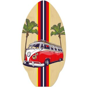 VW camper style in RED skimboard or use for VW camper table