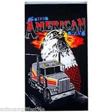 The American way flag 5ft x3ft