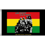 Bob Marley and the Wailers flag 5ft x 3ft