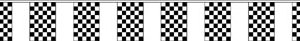 Chequered bunting