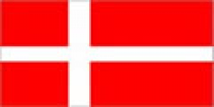 Denmark flag 5ft x 3ft