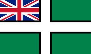 Devon Ensign flag 5ft x 3ft