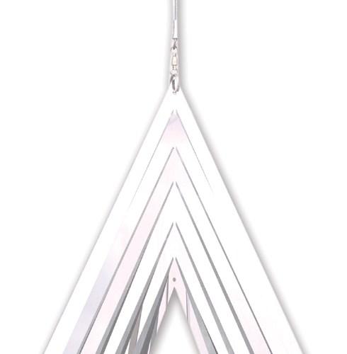 Stainless steel garden windspinner - TEAR DROP
