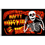 Halloween bones flag 5x3ft