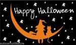 Halloween cat flag 5x3ft