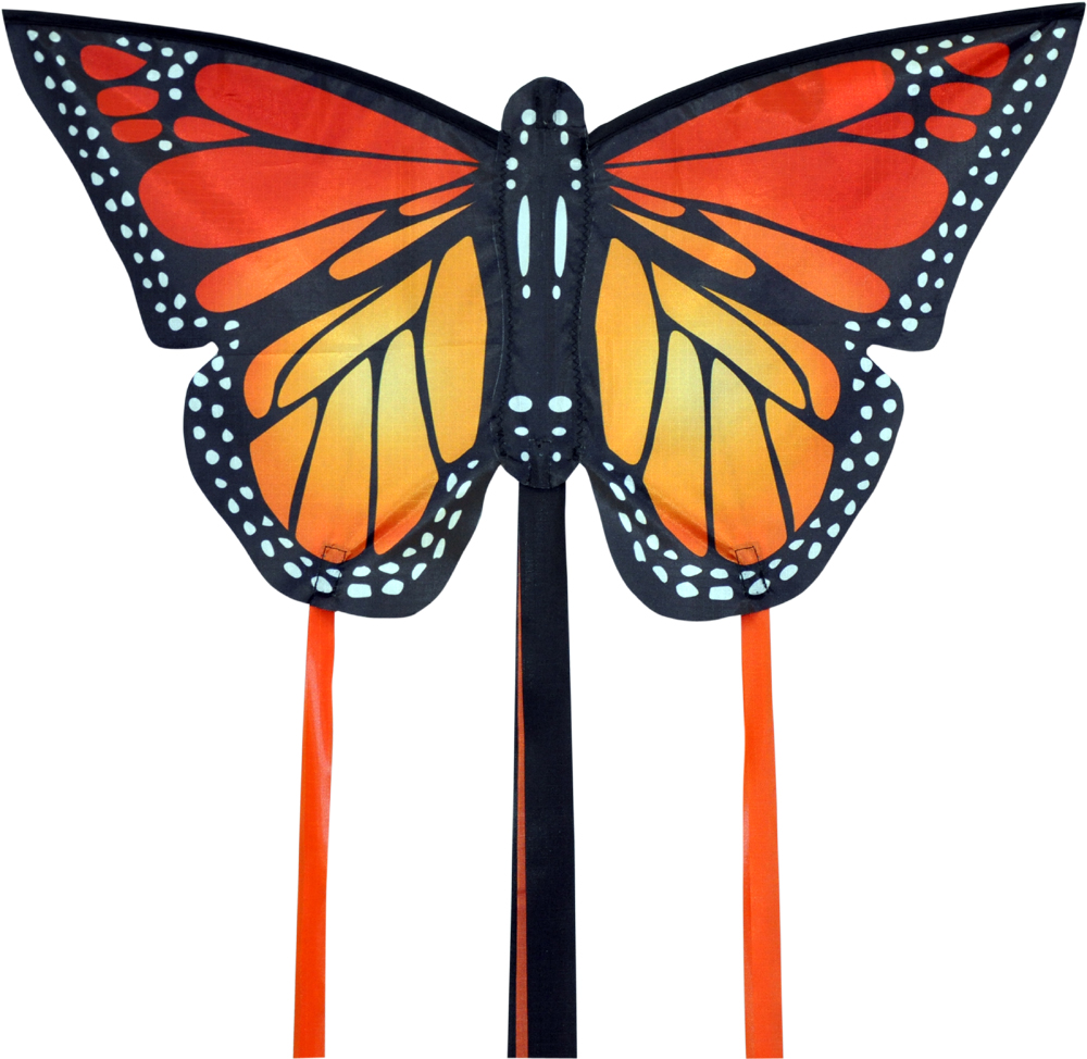 Monarch butterfly kite small in red by spirit of Air