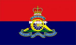Royal artillery flag 5x3ft
