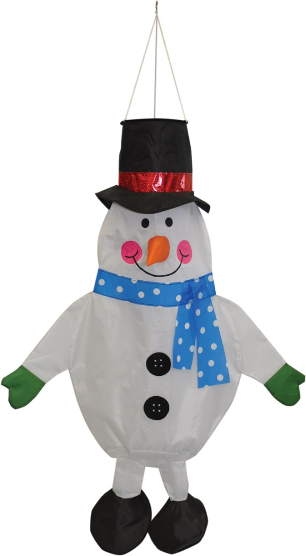SNOWMAN WINDSOCK by Spirit of Air