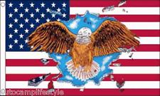 USA Eagle american flag 5ft x3ft