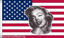 USA Marilyn Monroe american flag 5ft x3ft