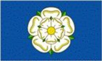 Yorkshire rose flag ( old style ) 5ft x 3ft
