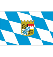 Bavaria (with crest) flag 5x3ft