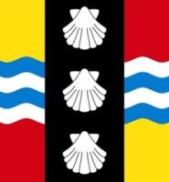Bedfordshire flag 5ft x 3ft NEW STYLE