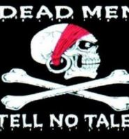 Dead men tell no tales pirate flag 5ft x 3ft