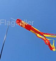 Wessex flag tube windsock 60″ for telescopic pole High quality