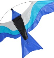 Colourful bird blue single line kite