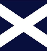 Scotland St. Andrew flag 5ft x 3ft premium quality with eyelets